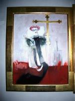 Columba. Gemälde von Erhard Schütze (1997)