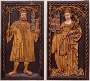 Kaiser Heinrich II. und Kaiserin Kunigunde