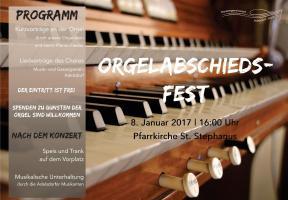 Orgelabschiedsfest