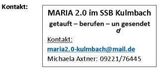 Kontaktdaten Maria 2.0