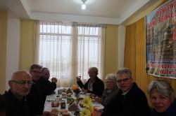 22.8.2017 Frühstück im Pfarrzentrum Atico