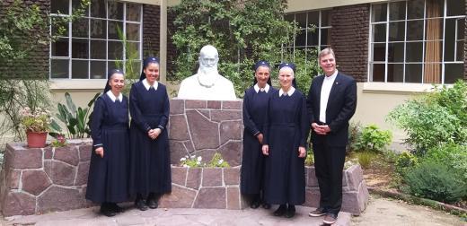 Begegnung mit der Provinzleitung der Marienschwestern