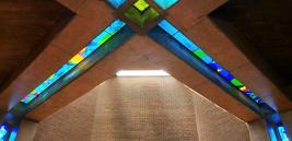 Priesterseminar der Schönstattpatres in Santiago de Chile, Seminarkirche Hl. Dreifaltigkeit