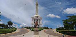 Monument in Santiago