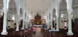 In der Pfarrei von P. Lucas Núnez B. in Montecristi