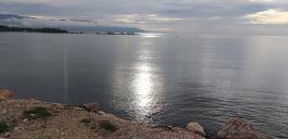 Morgenstimmung beim Morgenspaziergang am Strand von Barahona