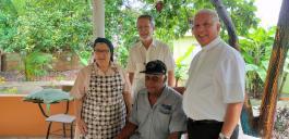 Besuch in der kath. Tagespflege in Barahona