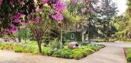 Garten um das Heiligtum von Bellavista