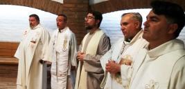 Heilige Messe in der Hauskapelle