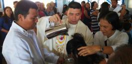 mit anschließender Taufe
