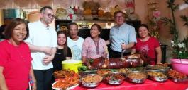 Eröffnung des Essens zum Patronatsfest