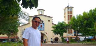 Besuch bei Nelbert Grana in Agusan del Norte in der Pfarrei Nuestra Segnora de la Luz