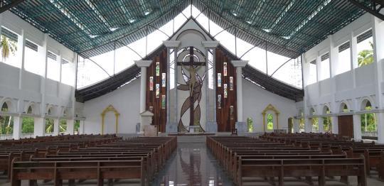Neue Kathedrale von Tandag