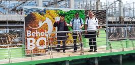 Ankunft im Hafen von Bohol