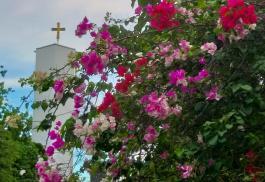 Glockenturm auf dem Schönstattzentrum in Cebu