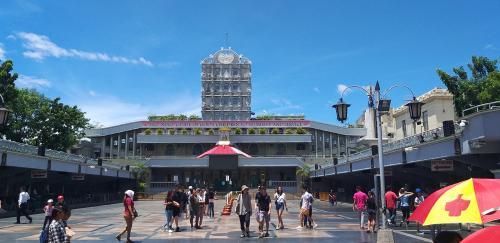 Santo Niño in Cebu, Pilgerplatz vor der Wallfahrtskirche
