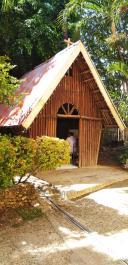 Bambus-Heiligtum in Cebu, erste Schönstattkapelle in den Philippinen