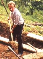 Fundamentbau für das Heiligtum der Berufung