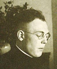 Karl Leisner mit Kollar