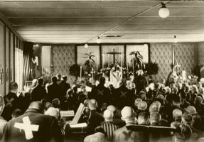 Dachau Gottesdienst Ostern 1945