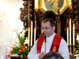 Fackellauf 2009 - Im Mitgründerheiligtum auf der Liebfrauenhöhe