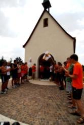 Fackellauf 2009 - auf Belmonte angekommen