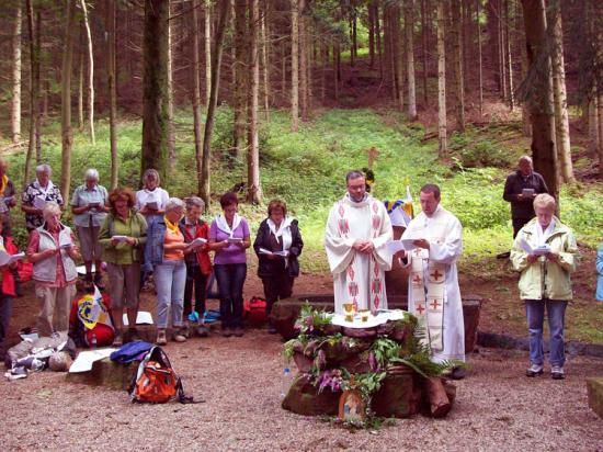 Gottesdienst am Brunnen
