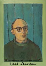 Karl Leisner - Bild in der Dachau-Kapelle auf Berg Moriah