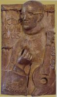 Karl Leisner - Bronzeplastik von J. Potzler