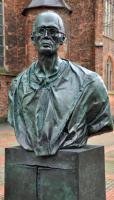 Karl Leisner - Bronzeskulptur (Detail)